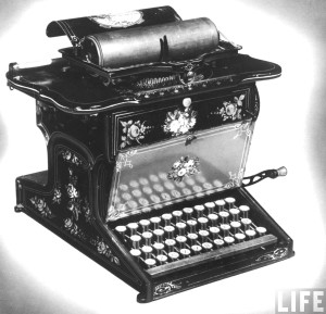 Remington_No._1_typewriter_LIFE_Photo_Archive