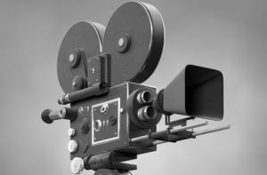 old-fashioned-movie-camera